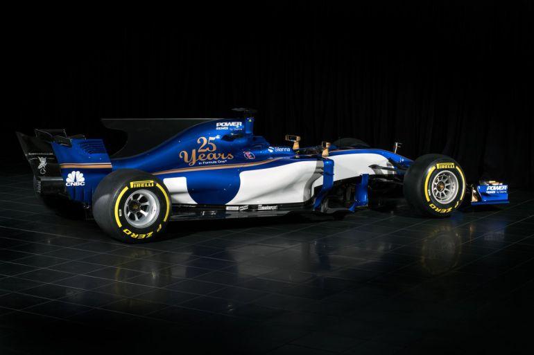 Sauber presenta el C36, el coche de su 25 aniversario en Fórmula 1