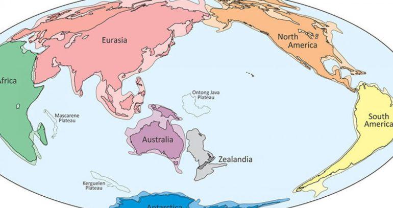 Asisopitas Geologos Demuestran Que Existen 8 Continentes En La