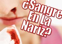 ¿Qué hacer en caso de una hemorragia nasal?