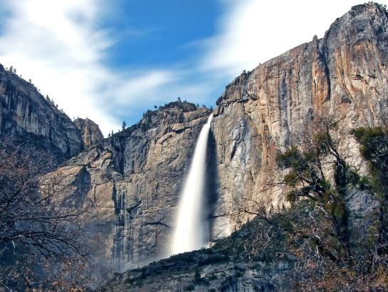 """VIDEO: La increíble """"Cascada de fuego"""", del Parque Yosemite"""