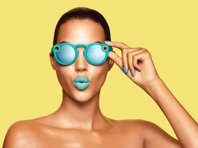 Las gafas de Snapchat salen a la venta