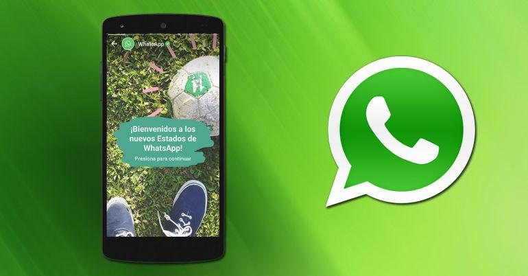 """WhatsApp se actualiza y agrega """"historias"""" a su plataforma"""