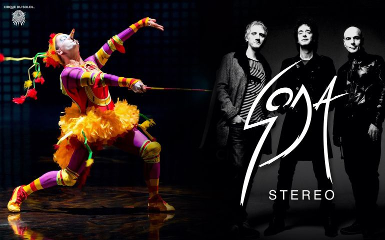 El Cirque du Soleil rinde homenaje a Soda Stereo
