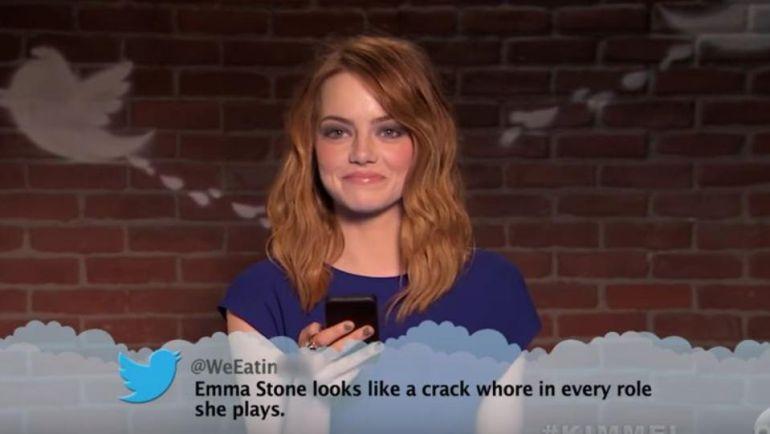 Nominados al Oscar leen tuits ofensivos