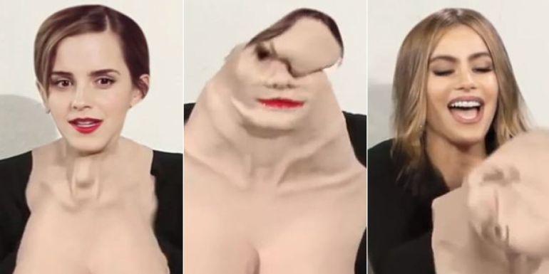 Entérate como surgió el GIF de Emma Watson y Sofía Vergara