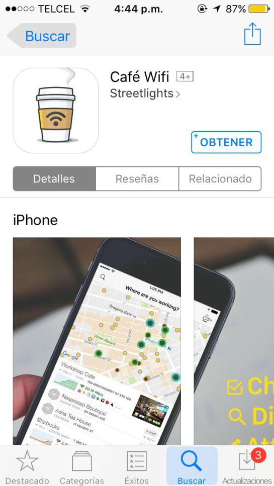 Aplicación para obtener Internet gratis