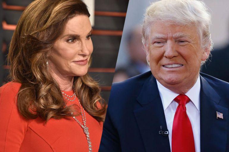 Caitlyn Jenner reta a Donald Trump