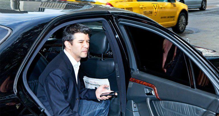 Exhiben al CEO de Uber discutir con uno de sus conductores