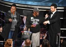 Expresidiario robó la atención en los Oscar 2017