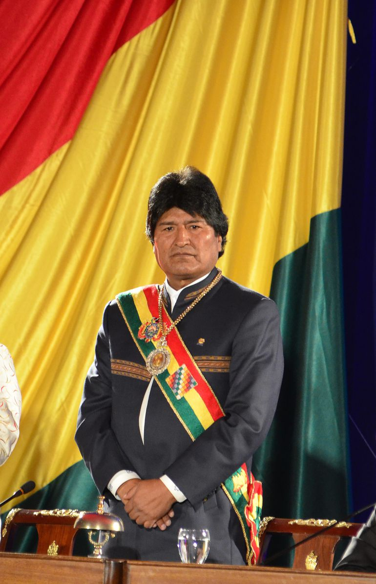 Evo Morales viaja a La Habana para tratarse un problema de garganta
