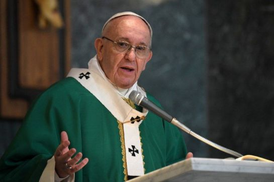 """Sería mejor ser ateo a un católico hipócrita"": Papa Francisco"