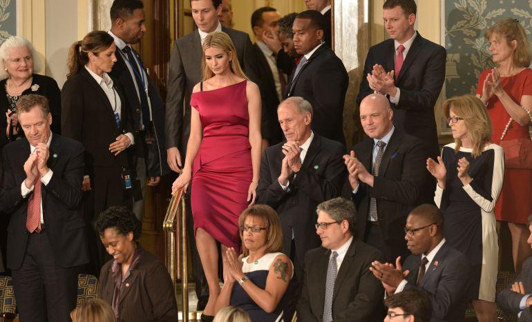 Ivanka Trump desafía a su padre
