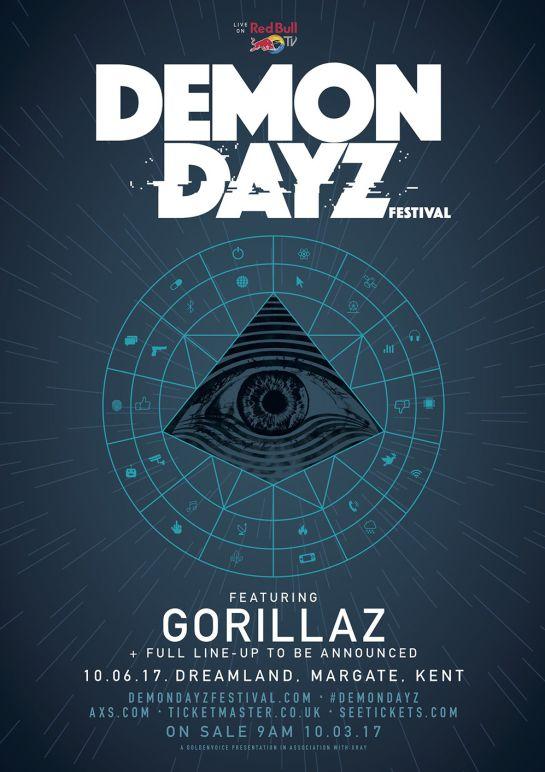 ¡Gorillaz está de regreso y con su propio festival!