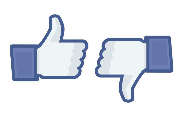 ¿Ya probaste el 'no me gusta' en Facebook?