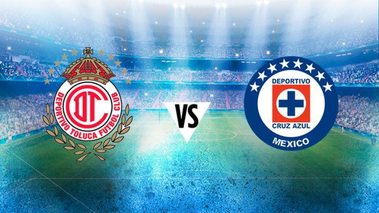 Toluca y Cruz Azul comienzan con la actividad futbolística del domingo