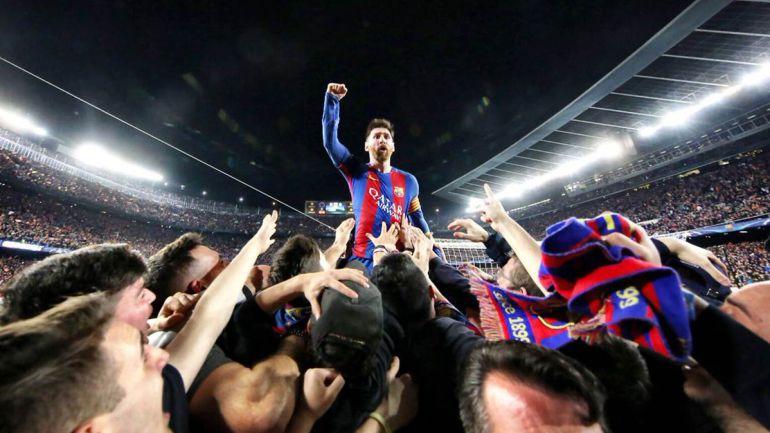 La foto de Messi que rompe los récords del Barcelona en redes sociales