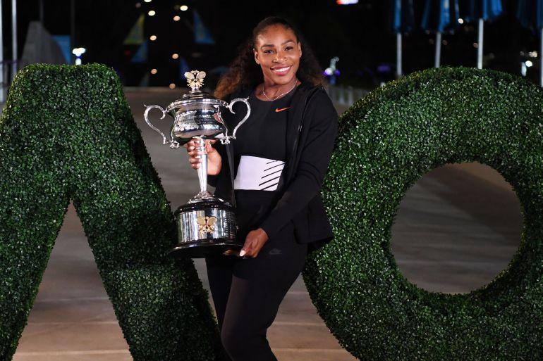 La comparación entre Serena Williams y uno de sus fans