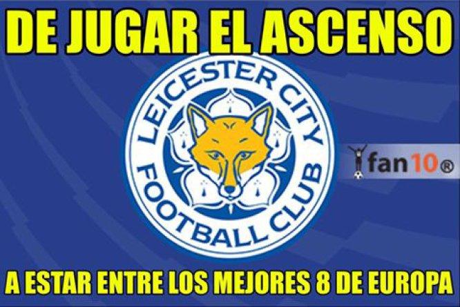 Los memes se burlan de la eliminación del Sevilla ante el Leicester City