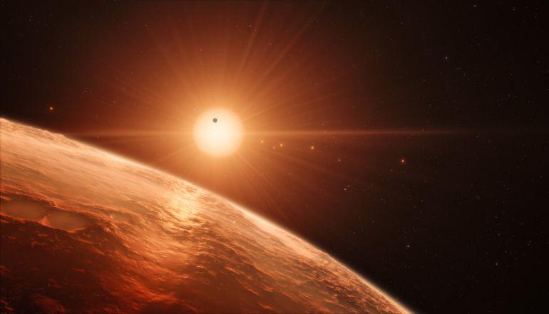 La NASA revela primeras imágenes del nuevo sistema planetario