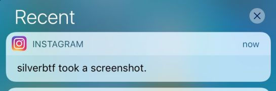 "¡Cuidado ""stalkers""! Instagram ya notifica los screenshots"