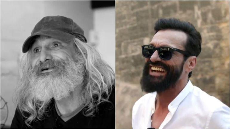 Transforman a indigente español en hipster