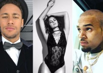 Neymar y Chris Brown pelean en Instagram
