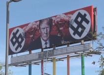 Artista que creó la valla contra Trump es amenazada