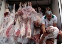 """Maquillan""en Brasil carne podrida"