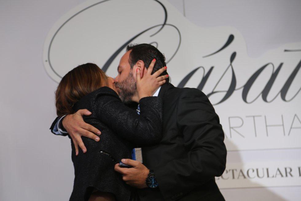 El beso que demuestra que el amor sí existe
