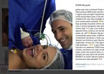 Recién nacida sonríe en sus primeros segundos de vida
