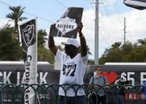 Locura en Las Vegas con la llegada de los Raiders