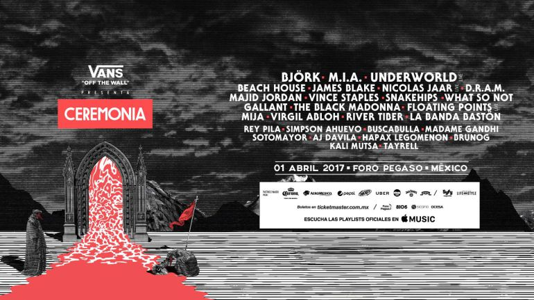 Se cancela el festival Ceremonia 2017
