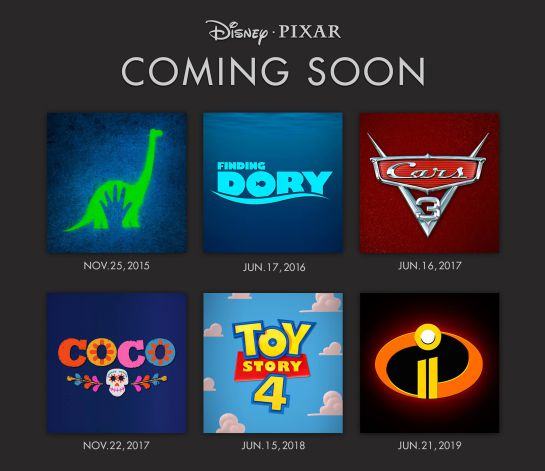 Disney revela el calendario de sus próximos estrenos