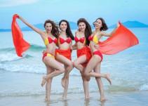 La aerolínea VietJet es todo un éxito gracias a sus aeromozas en bikini