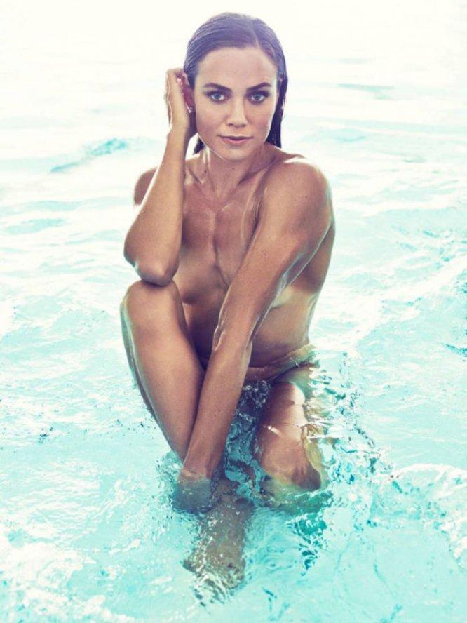 La nadadora estadounidense Natalie Coughlin