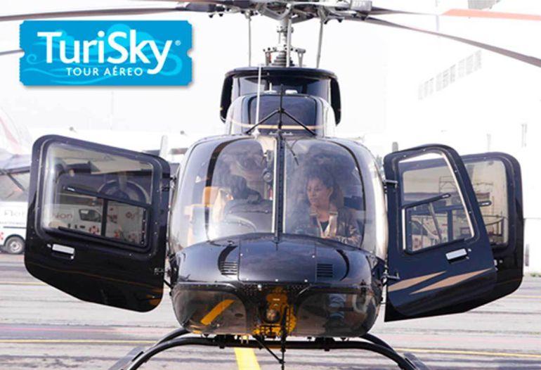 ¡Llegan tours aéreos para recorrer la CDMX!