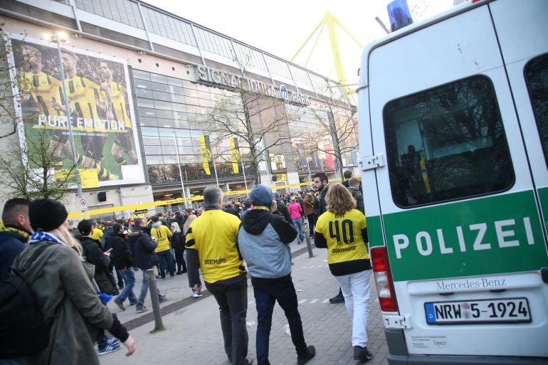 Detienen a un islamista sospechoso del atentado en Dortmund