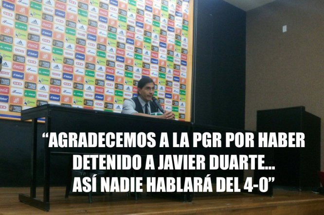 Los memes se burlan de la detención de Javier Duarte
