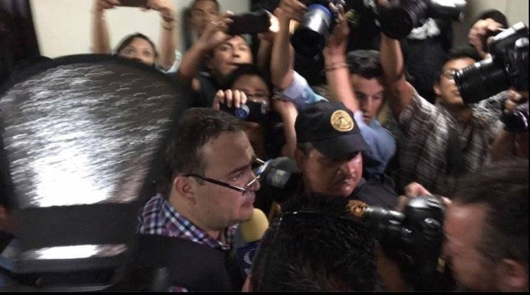 Javier Duarte no acepta extradición a México