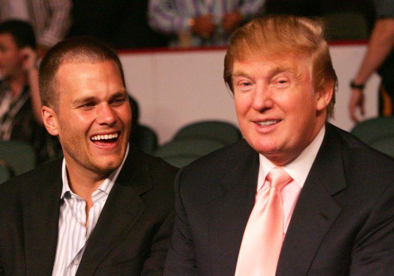 """Tom Brady deja """"plantado"""" a Donald Trump"""