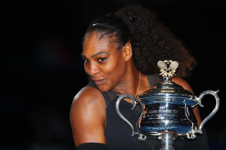 ¡Serena Williams está embarazada!