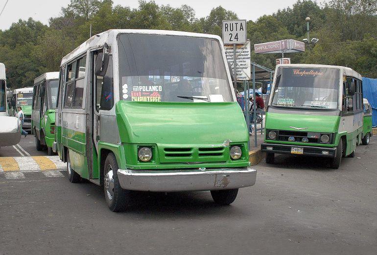 Publican las nuevas tarifas de microbuses en la CDMX