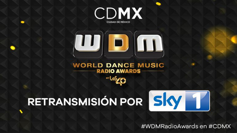 ¡No te pierdas la retransmisión de los World Dance Music Radio Awards!