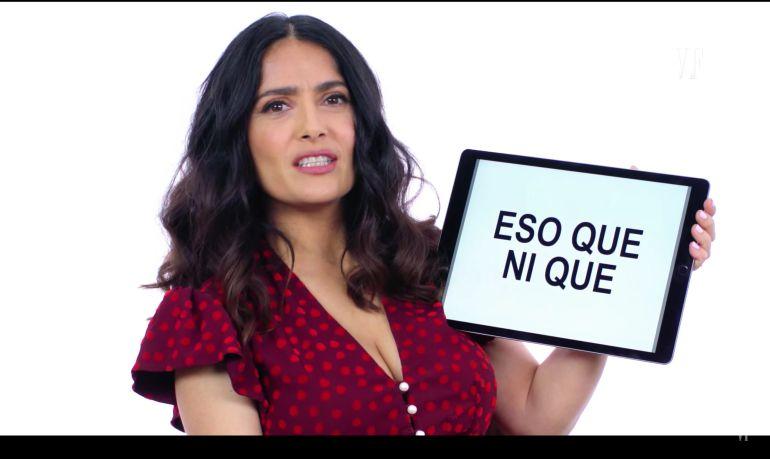 ¡Clases de español con Salma Hayek!