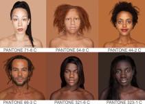 Fotógrafa retrata cada tono de piel existente para un Pantone humano