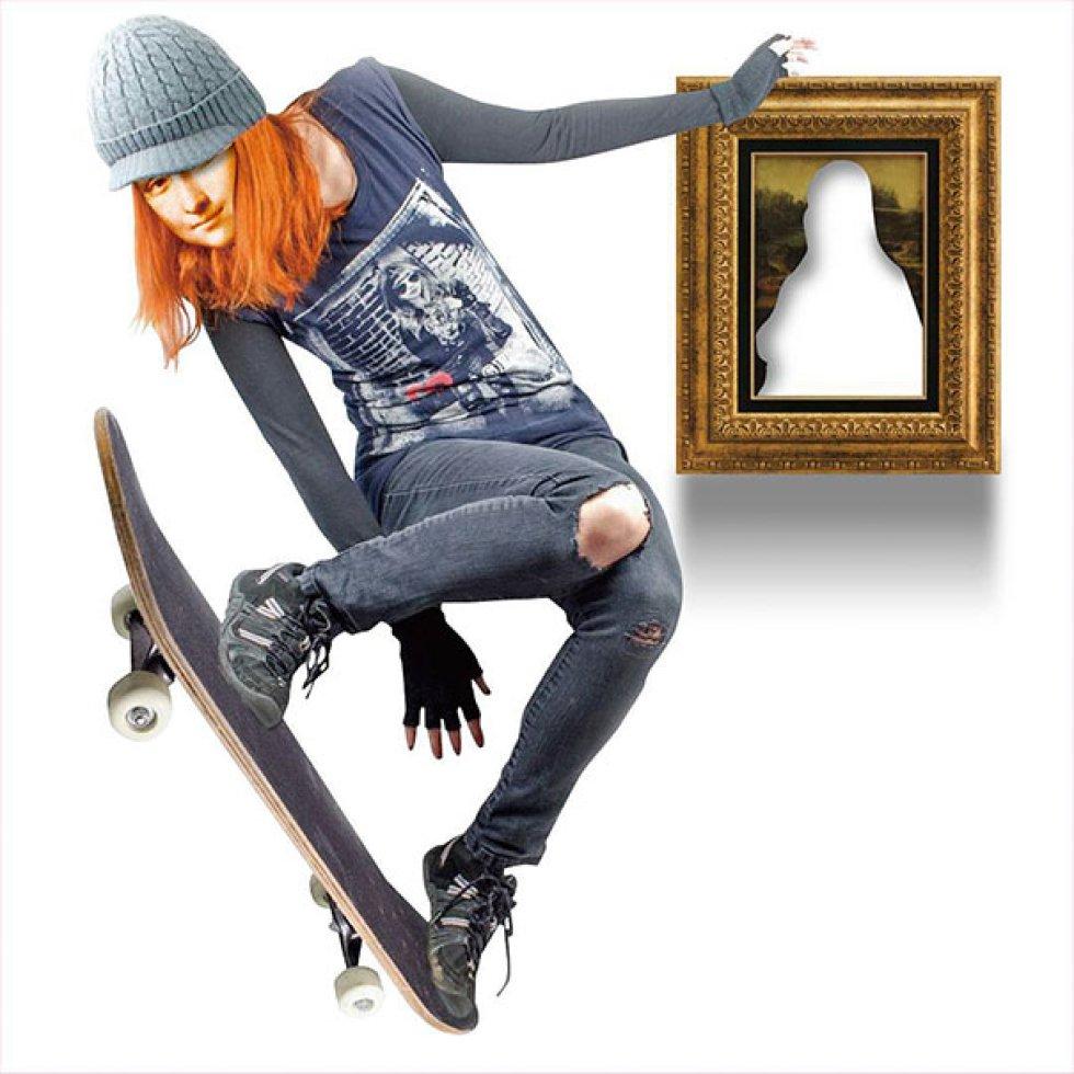 ¿Qué pasaría si los iconos del Arte fueran hipsters?