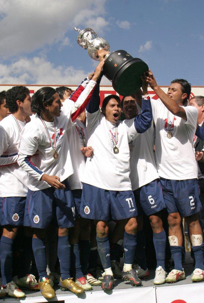 El último título de Chivas en la Liga MX