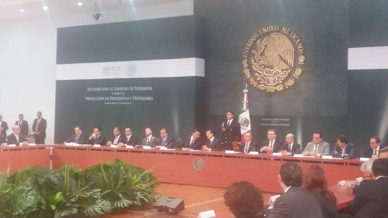 EPN convoca a reunión urgente por asesinato de periodistas