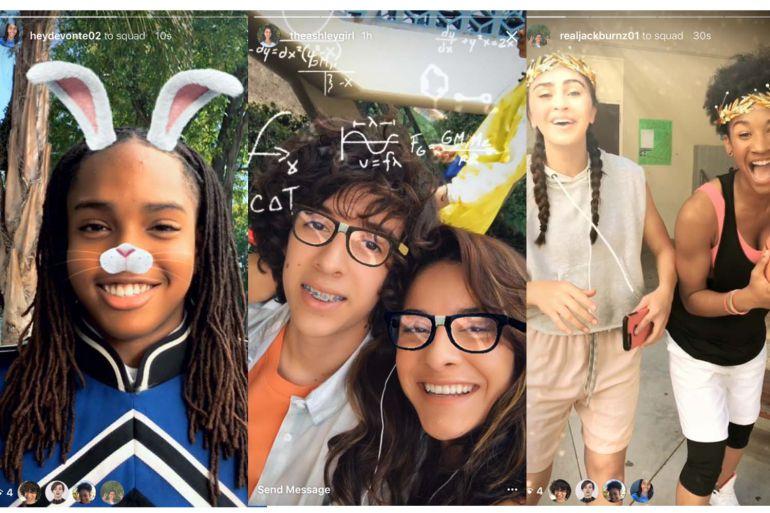 Instagram ya tiene máscaras y videos en retroceso