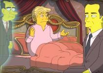 Los Simpson parodian de nuevo a Donald Trump